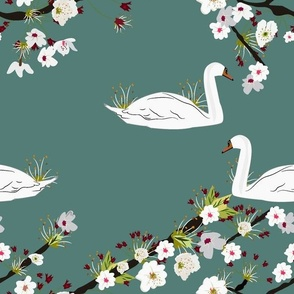 Sakura Swan - Mysterious Green