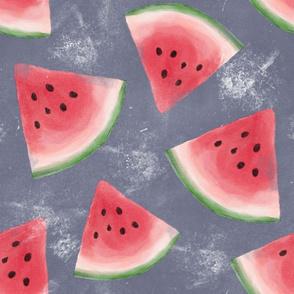 grunge watermelon