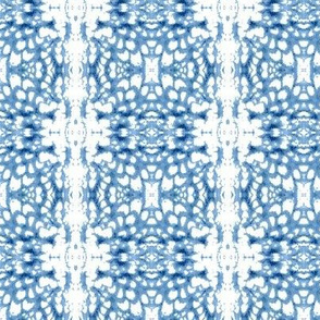 Glass Mosaic - blue and white
