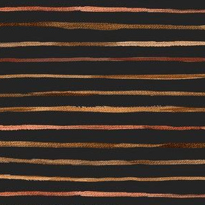 wobbly stripe - autumn shades