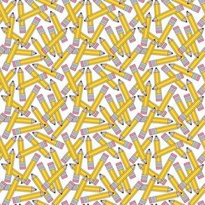 small yellow pencils