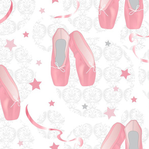 Pointes Shoes (White background)
