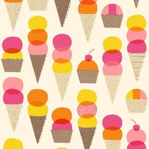 Ice Cream on a Summer Day