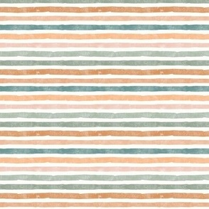 (small scale) fall stripes - pastels - C20BS