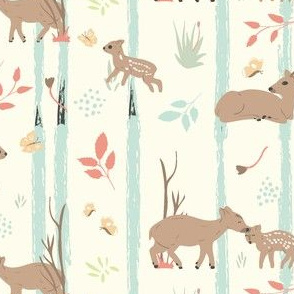 Pudu in the forest