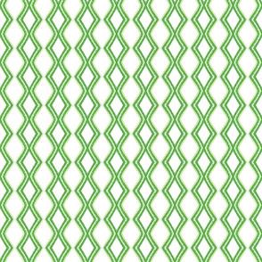 Lattice - green and white