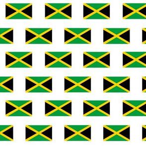 jamaican flag fabric - black, green, yellow