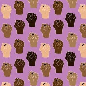 Black Lives Matter Small Scale-Purple