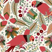 Tropical surrealism - Parrots