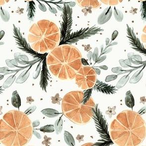 orange spice   pine
