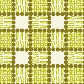 Phospholipid Bi-Layer Plaid (Green)
