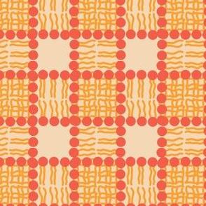 Phospholipid Bi-Layer Plaid (Orange)