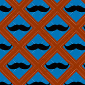 Mustache Argyle
