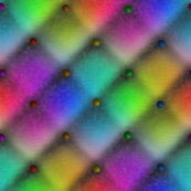 Buttoned Rainbow Plaid