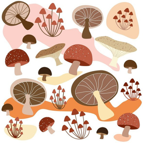 Mushrooms camouflage
