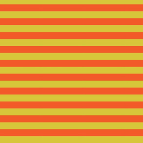 Stripes orange and yellow
