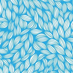 leaves - blue