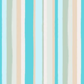 Beach Stripes Painted