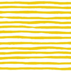 Sunshine stripes - yellow