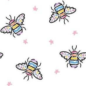 Rainbow Star Bee