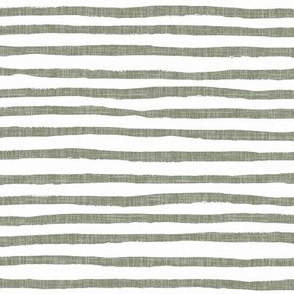 Sunset stripe - sage