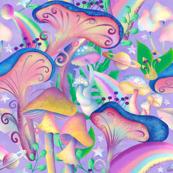 Mushroom Galaxy jumbo scale