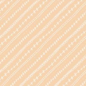 Hand-drawn striped pattern