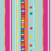 Happy Rainbow Stripes
