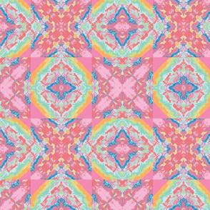 Pastel Abstract Kaleidoscope