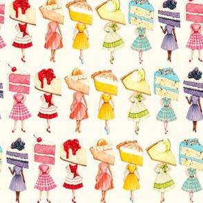 Rainbow Cake Head Pin-ups