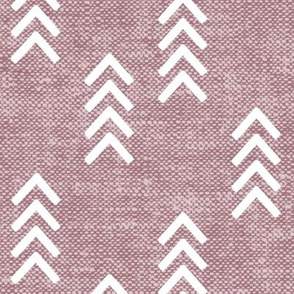 arrow stripes - mauve - LAD20
