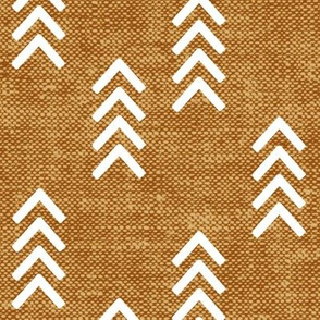 arrow stripes - mustard - LAD20