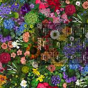 Botanic Garden 2021 Tea Towel Calendar