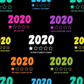 2020 One Star Reviews