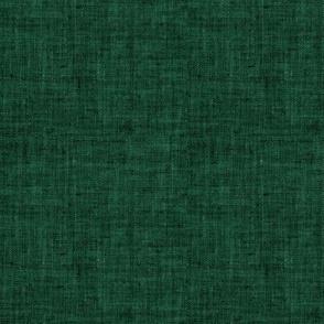 solid green linen