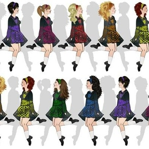 Irish Dance Rainbow