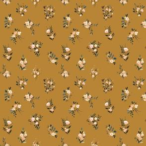 Meadow Floral-mustard