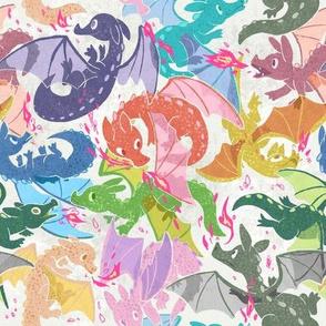 Rainbow Dragons