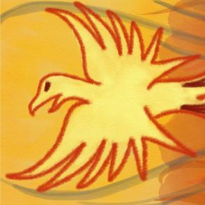 2021 Phoenix Tea Towel