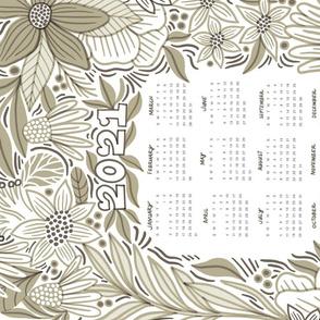Ehpopoki, tea towel calendar