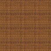 Brown Basketweave