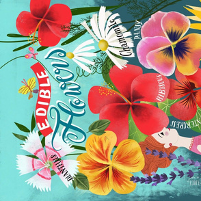 edible flowers kitchen wisdom