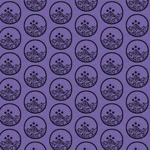 Night Court on Purple micro scale