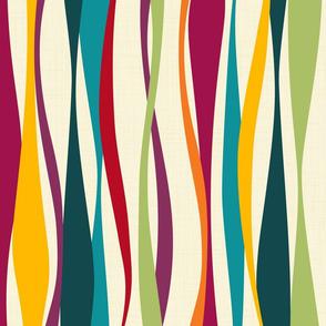 colorful bohemian waves light