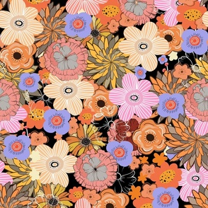 retro flower 004