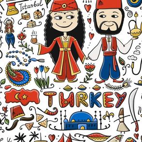 Travel to Turkey.  Turkish Ornament.