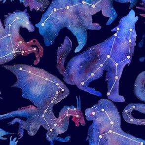 Constellations (Dark blue)
