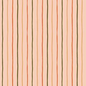 Handdrawn Retro Stripes_Earthy