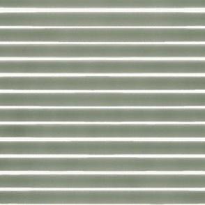 Misty Olive Stripes
