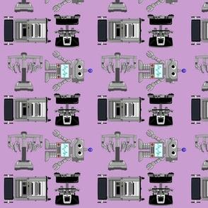 surgery robots- small lite purple